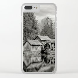 Blue Ridge Icon Clear iPhone Case