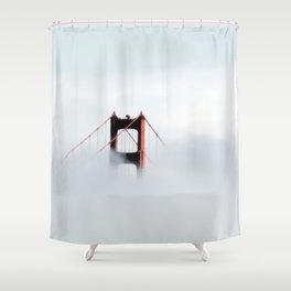 Golden gate bridge, San Fransisco USA Shower Curtain