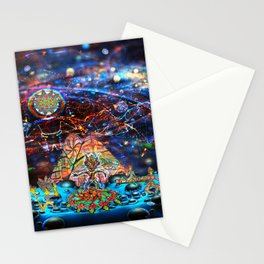 Shaman party Stationery Cards