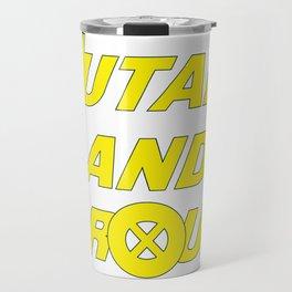 X-Men - Mutant and Proud Travel Mug