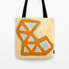 Vintage triangles Tote Bag