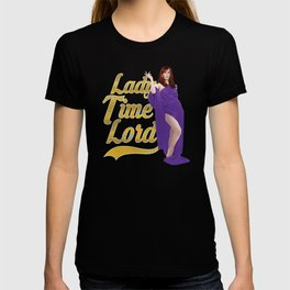 Lady Time Lord T-shirt
