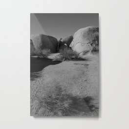 Desert Rocks Metal Print