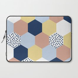 Cotton Candy Hexies Laptop Sleeve
