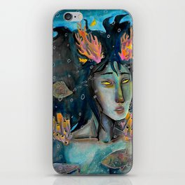 i thought i told you to leave me alone iPhone Skin