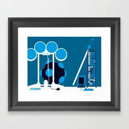 AXOR Systems - Room #2 Framed Art Print