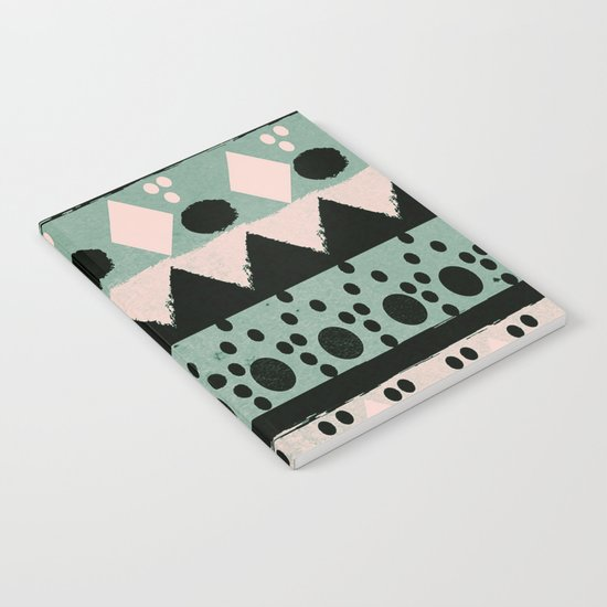 PASTEL NORDIC TRIBAL  Notebook