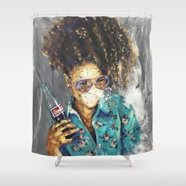 Naturally LI Shower Curtain