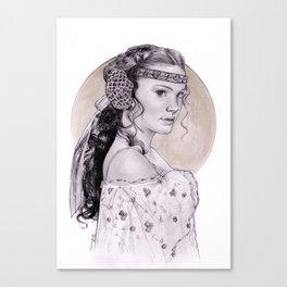 Natalie Portman Padme Amidala Canvas Print