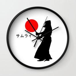 Samurai 2 Wall Clock
