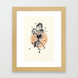 31. Trick-or-treaters Framed Art Print