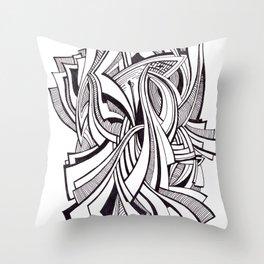 Tethers Throw Pillow