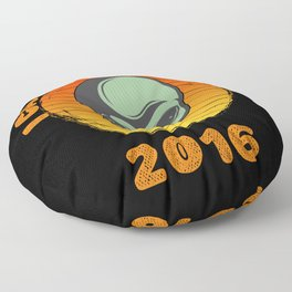 I Came To Earth In 2016 UFO Alien Floor Pillow