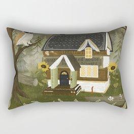 book cottage Rectangular Pillow