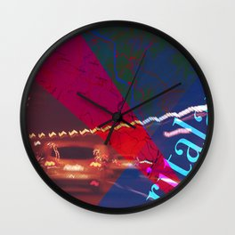 Story of the Roads - 3 Wall Clock