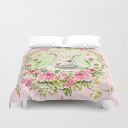 Spring Bunny Duvet Cover
