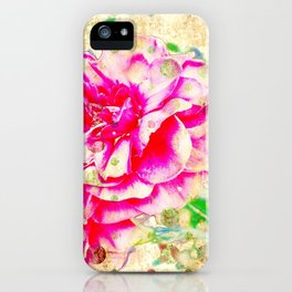 Floral theme [spring bollywood) iPhone Case
