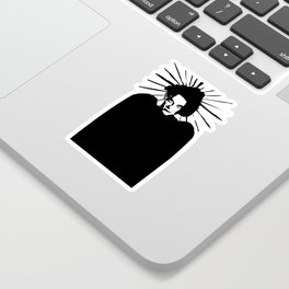 Robert Smith icon saint art Sticker