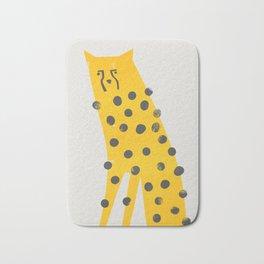 Speedy Cheetah Bath Mat