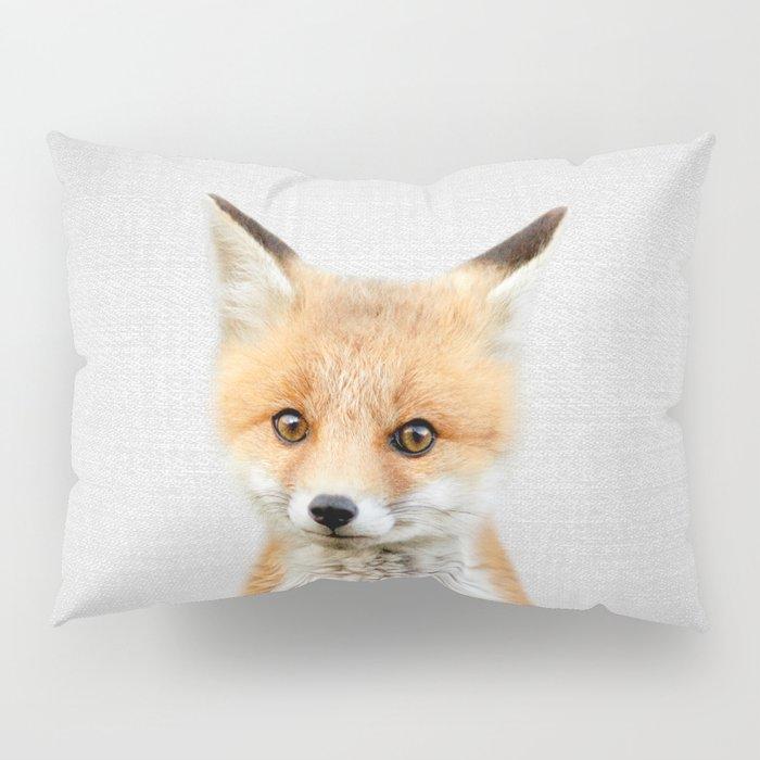 Baby Fox - Colorful Pillow Sham