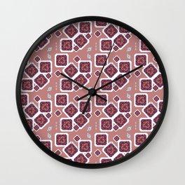 Quebrada Diamond Wall Clock