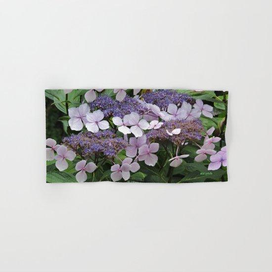 Hydrangea Violet Hues Hand & Bath Towel