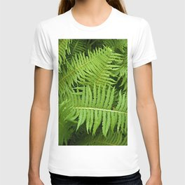 GREEN FERN POETRY T-shirt