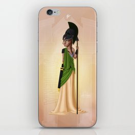 Greek Goddesses - Athena iPhone Skin