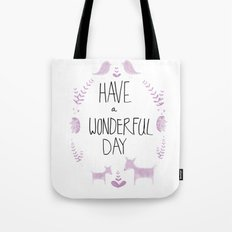 wonderful day Tote Bag