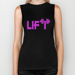 Purple Lift Biker Tank