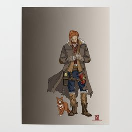Caleb of the Mighty Nein Poster