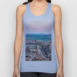 Sunset in the Lost World Unisex Tank Top