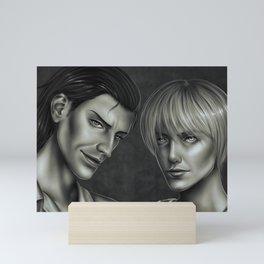 Kenny and Uri Mini Art Print