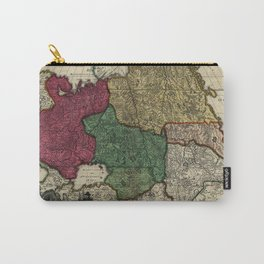 Map of Russia (1704) Carry-All Pouch