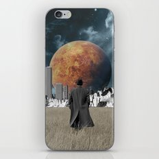 Out of the past & into the future iPhone Skin