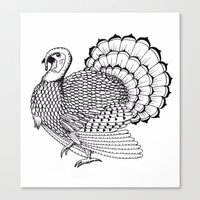 turkey Canvas Prints featuring Turkey by Martin Stolpe Margenberg