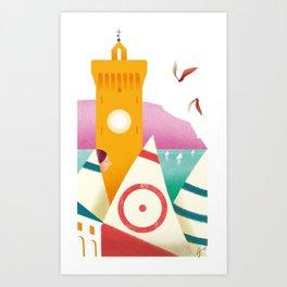 Illustre Conero - Porto Recanati Art Print