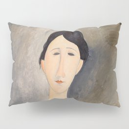 """Amedeo Modigliani """"Young Woman in Blue"""" Pillow Sham"""