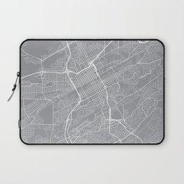 Birmingham Map, Alabama USA - Pewter Laptop Sleeve