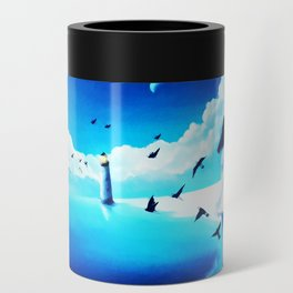 Lighthouse At The Sea Can Cooler
