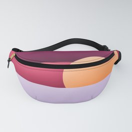 Sunset at beach Fanny Pack