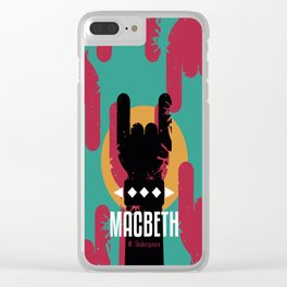 Macbeth by Shakespeare Clear iPhone Case