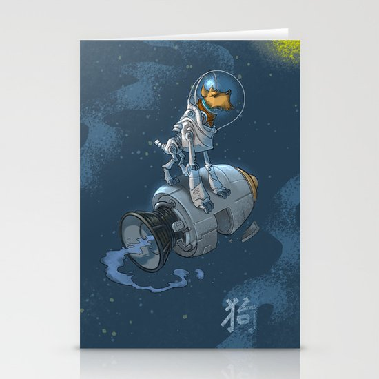 Astro Zodiac Force 11:  Dog Stationery Cards