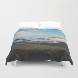 Valley in the spring Duvet Cover