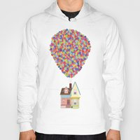 pixar Hoodies featuring Up by LOVEMI DESIGN