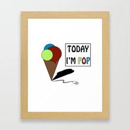 gelatoUsb - today i'm POP Framed Art Print