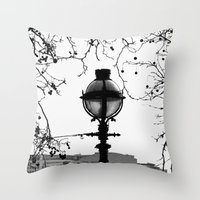 narnia Throw Pillows featuring Narnia 02 by Ian Gazzotti