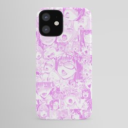 Pastel Ahegao Collage iPhone Case