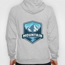 Mountain Logo Adventure Outdoor Hoody