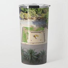 Barcelona Aerial Travel Mug